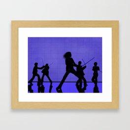 Kiddo Framed Art Print
