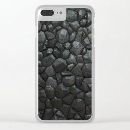 Granite Stone Clear iPhone Case