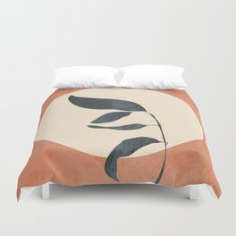 Summer Leaves Duvet Cover
