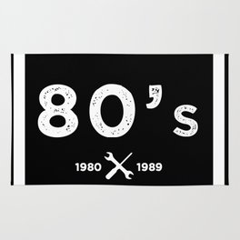 Born in the 80's. Certified Awesome Rug