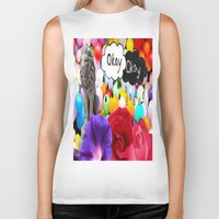 okay Biker Tanks featuring okay... by Aldo Couture