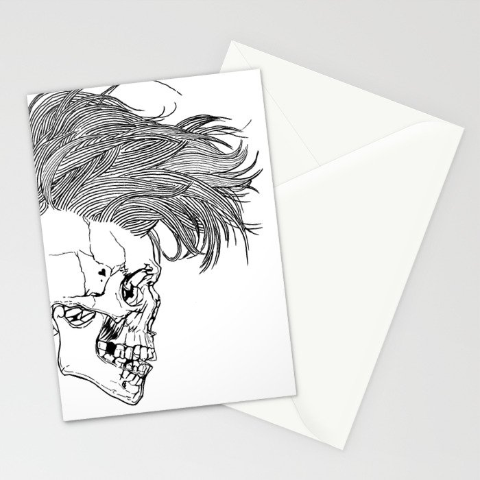 Death is New Punk Stationery Cards