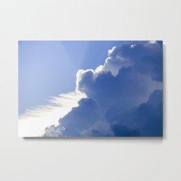 Clouds No.1   -  Thunder Metal Print