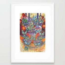 Machines Framed Art Print