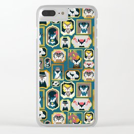 Cats wall of fame Clear iPhone Case