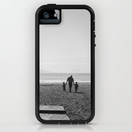 The sea and the men iPhone Case