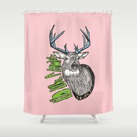 lawyer Shower Curtains featuring I'd like a lawyer by Monkey Chow