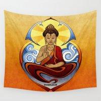zen Wall Tapestries featuring ZEN by starplexus