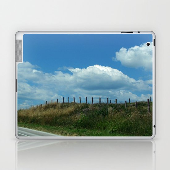 The Clouds Are Not Fenced In Laptop & iPad Skin