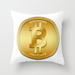 Bitcion Logic Throw Pillow