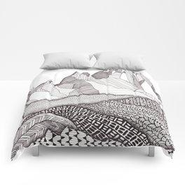 Patterns on Patagonia Comforters
