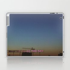 We wanted to be the sky Laptop & iPad Skin