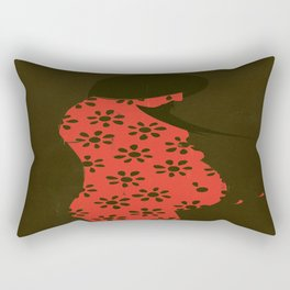 Abortion Rectangular Pillow