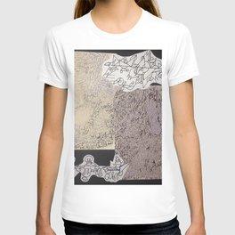 swirl galore T-shirt