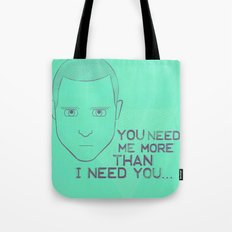 Breaking Bad - Faces - Jesse Pinkman Tote Bag