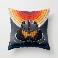 pacific rim Throw Pillows featuring Pacific Rim by milanova