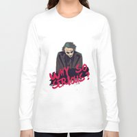 the joker Long Sleeve T-shirts featuring Joker  by FourteenLab