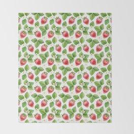 Strawberry jam Throw Blanket