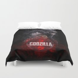 Godzilla II Duvet Cover