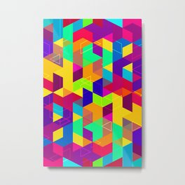 Pattern LXXX Metal Print