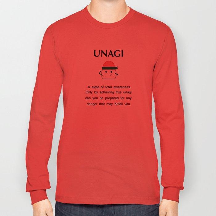 df59631f51a Unagi - Friends Long Sleeve T-shirt by murphisthescurpix