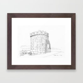 Tower Hill Framed Art Print