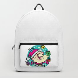 Santa Claus and Books Backpack