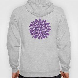 Lavender Spiral Pattern Hoody