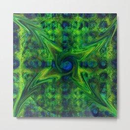 Cosmic Pinwheel Metal Print