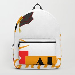 """Graduating this year? Here's an awesome T-shirt Design """"Proud Aunt Of A Class 2020 Graduate"""" Backpack"""
