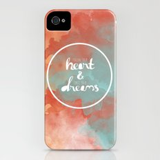 Follow Your Heart & Chase Your Dreams  Slim Case iPhone (4, 4s)