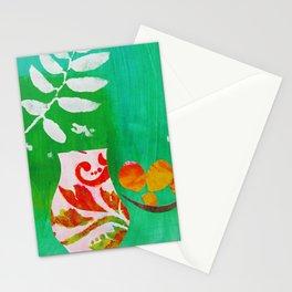 Fern & Peaches Still Life Stationery Cards