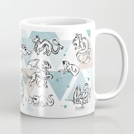 Dragons pattern Coffee Mug