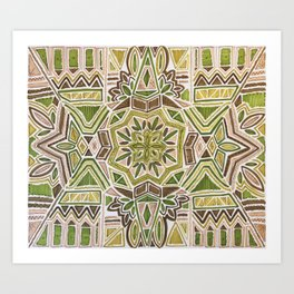 Earth Tapestry Art Print