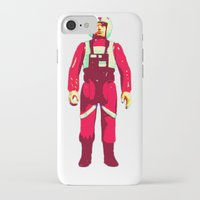 pilot iPhone & iPod Cases featuring pilot by BzPortraits