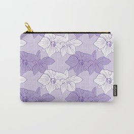 Purple Hellebores Carry-All Pouch