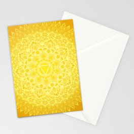 Manipura chakra Stationery Cards