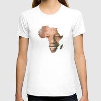 mandela T-shirts featuring MANDELA by El Pigro