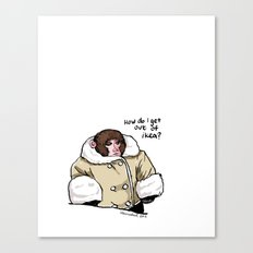 Baby Ikea Monkey Canvas Print