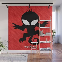 CHUPACABRAS - Red Edition Wall Mural