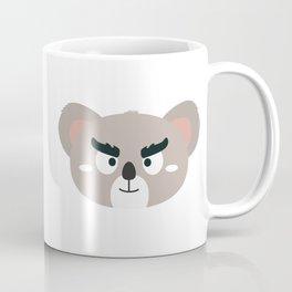 Angry koala head Coffee Mug