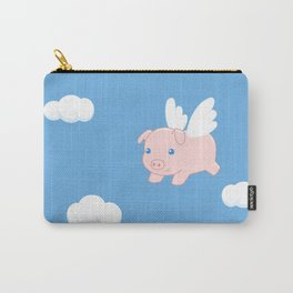 Flying Pig Carry-All Pouch