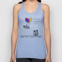 To be a Flying Penguin Unisex Tank Top