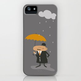 Happy Rainy Day iPhone Case