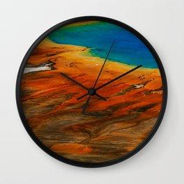 Grand Prismatic Lake Wall Clock