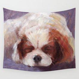Sleeping Dog Wall Tapestry