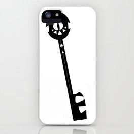 Evil Eye Keychain iPhone Case