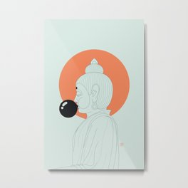 Buddha : Concentrate on the Void! Metal Print