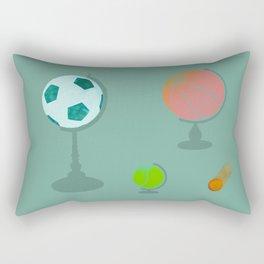 A Comet Appears Rectangular Pillow