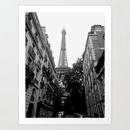 Paris III Art Print